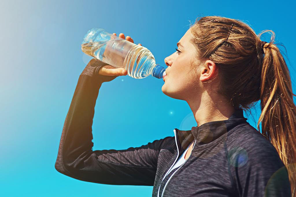Hidratação e corpo saudável